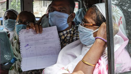 India records highest single-day spike of 97,570 covid-19 cases