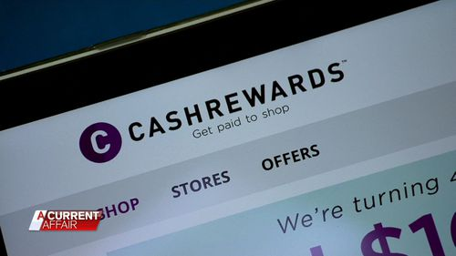 Cashrewards have partnered with 1200 retailers making them the largest cashback site in Australia. (A Current Affair)