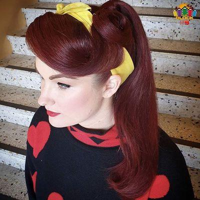 Secret behind Tam's stunning 1950s hairdos