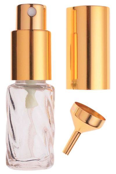 Decant your favourite perfume into a miniature atomiser.