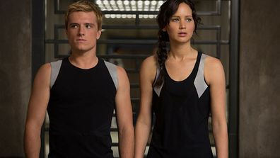 Jennifer Lawrence hit herself with a bow while sprinting into a pool of jets and was partially deaf for six days!<br/><br/>(Image: Lionsgate)