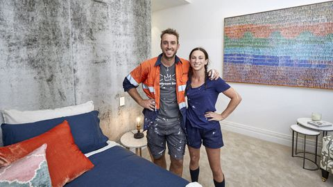 Jesse and Mel week one room reveal
