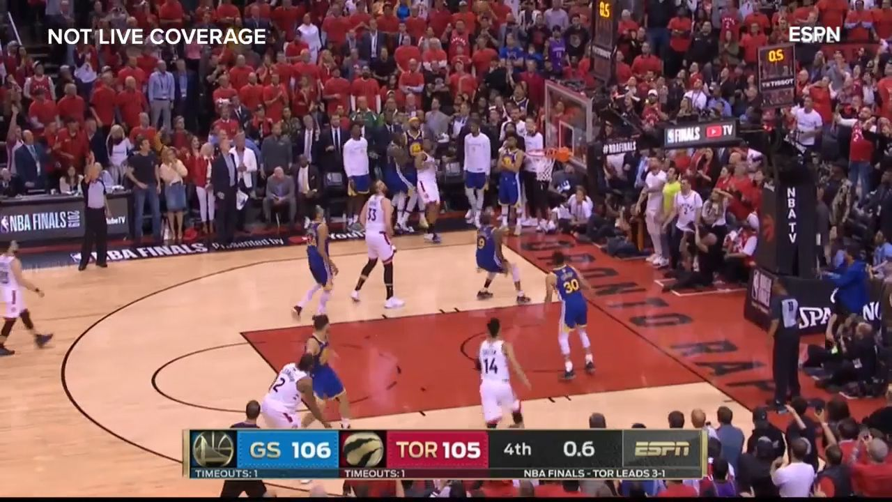 Raptors coach's timeout call 'made zero sense' in loss to Warriors