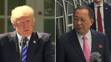 Trump says U.S. 'totally prepared' for military option in North Korea