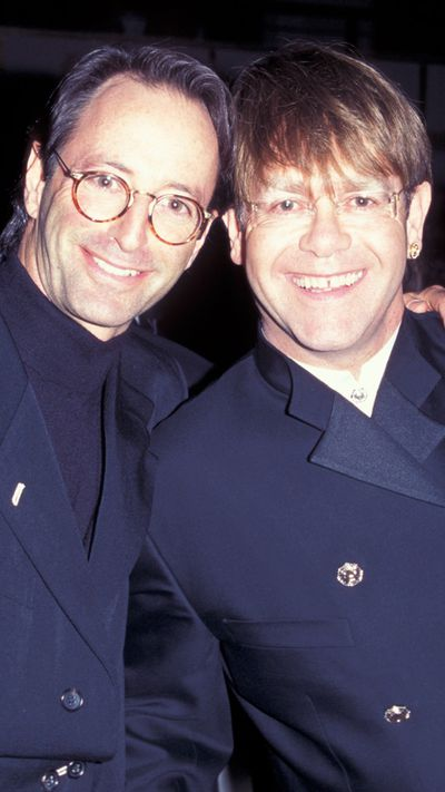 Herb Ritts with Elton John.