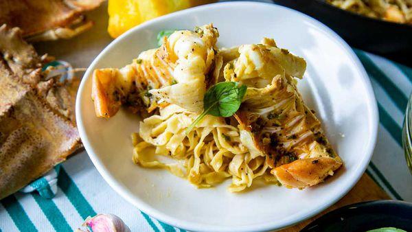 The Tartaglia's Moreton Bay Bug Pasta