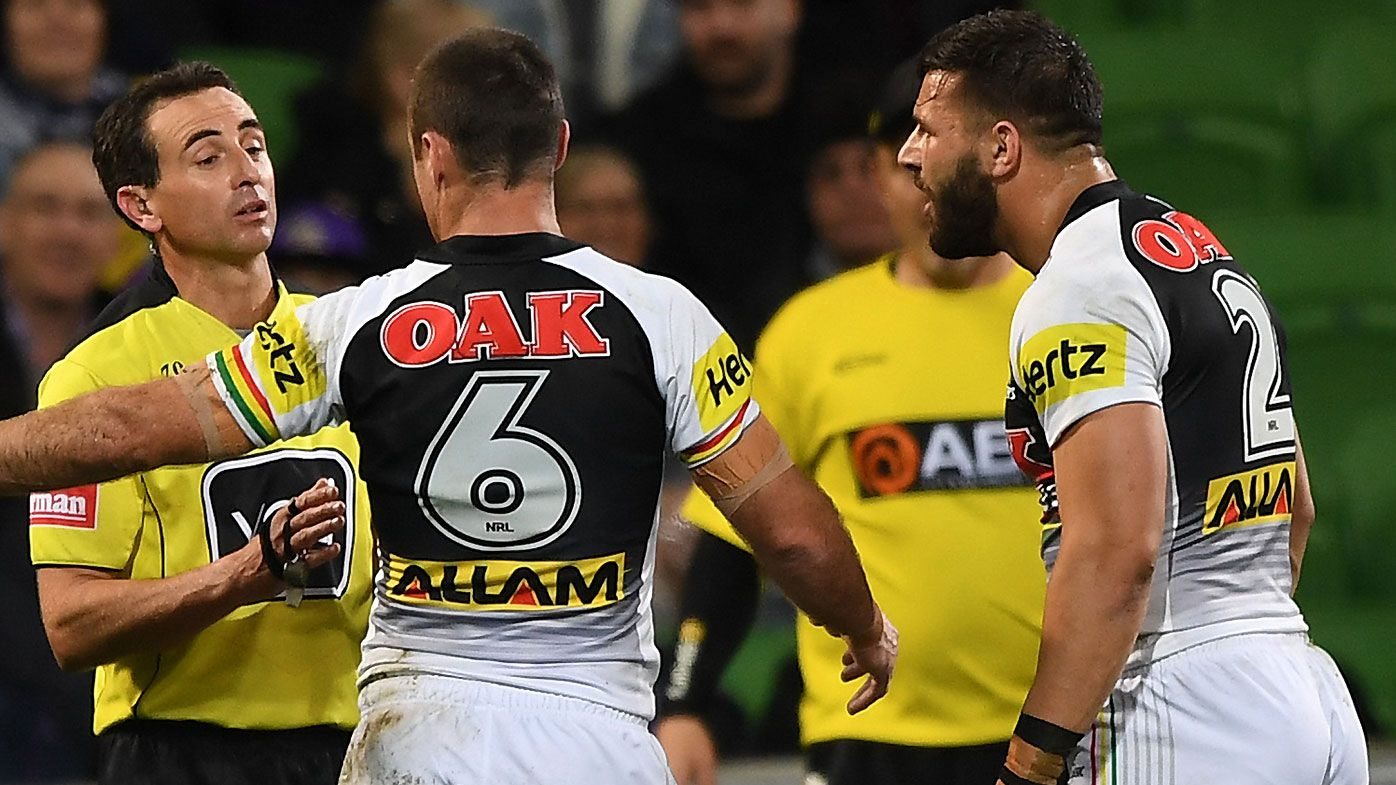 Josh Mansour fumes after 'harsh' sin-binning against Melbourne Storm