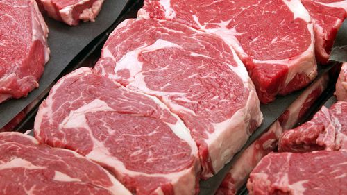 Red meat, raw