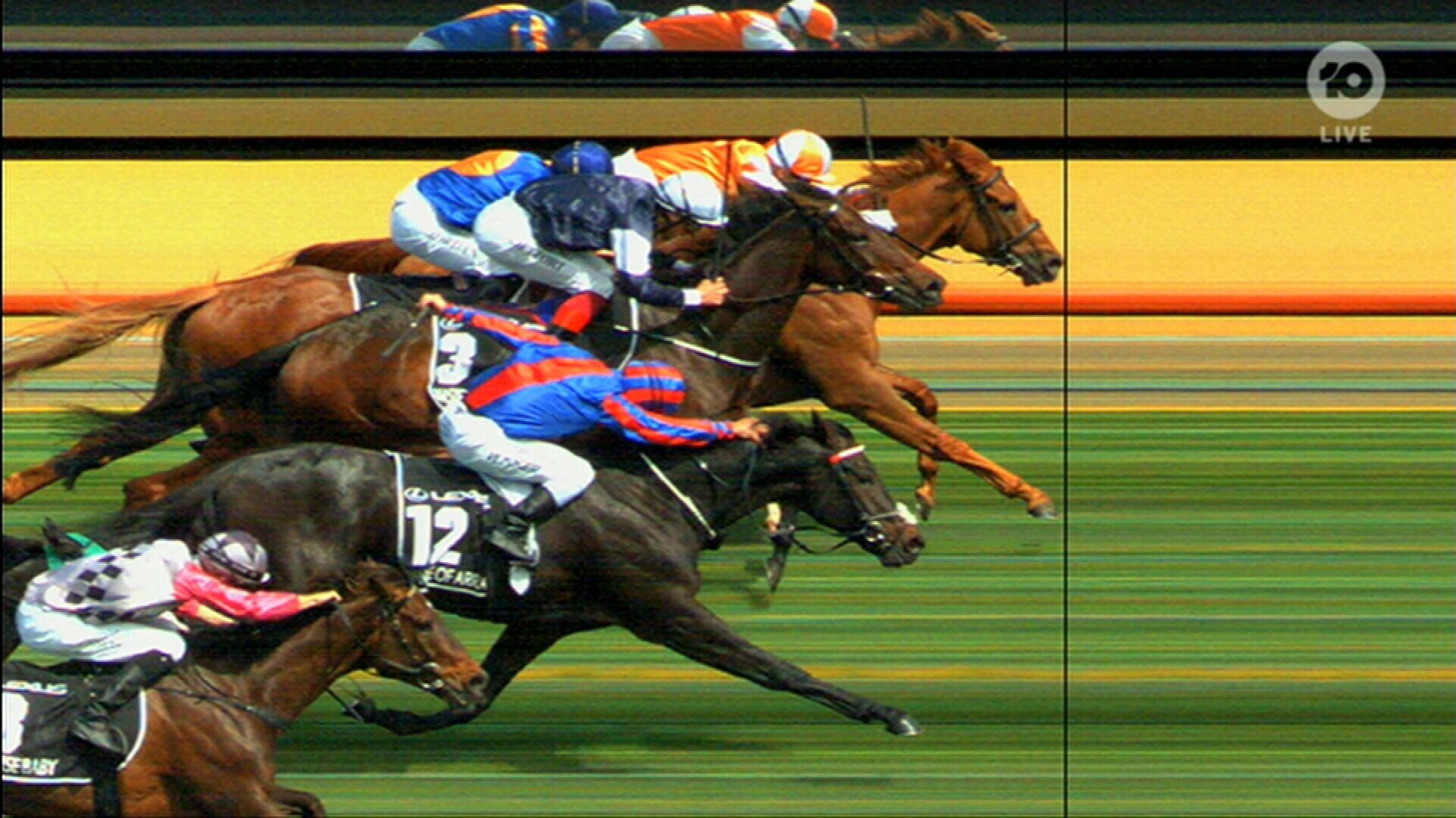 Vow and Declare wins the Melbourne Cup for Australia