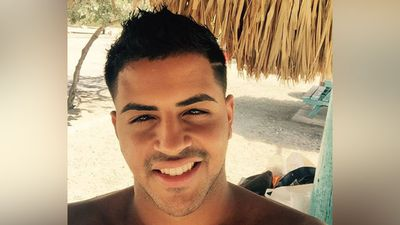 "Oscar Aracena, 26, had just returned home from a trip to New York and Canada with his boyfriend Simon A. Carrillo, who also died in the attack. According to family members he only briefly stopped by his home before heading to Pulse nightclub. A friend of the couple, Kimbu Garcia, wrote a tribute to them on Facebook saying ""I love you with all my being, until forever"". (Facebook)"