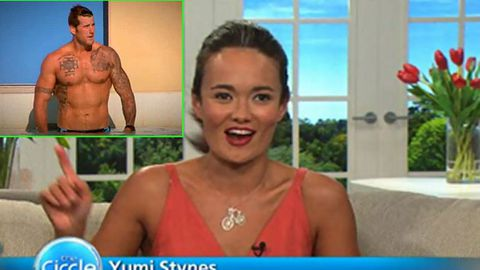 Yumi Stynes 'sorry' after mocking Aussie soldier on The Circle