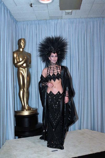 Cher at the 58th Annual Academy Awards