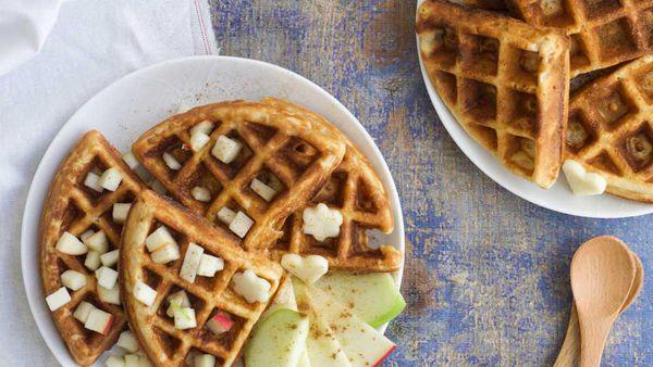 Apple waffle