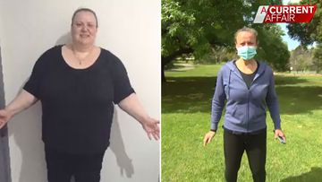 Woman's inspirational 130kg weight loss journey that you can do too