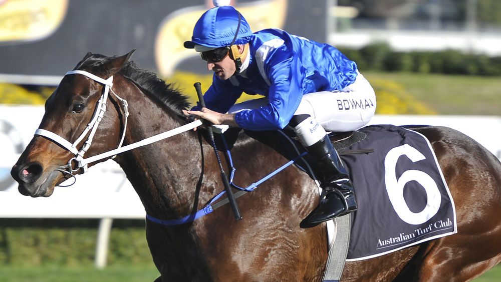 Winx is expected to be the headline act for Caulfield Stakes. (AAP)