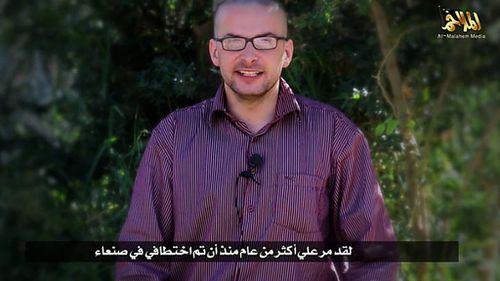 Photojournalist Luke Somers was captured in Yemen around 14 months ago. (Supplied)