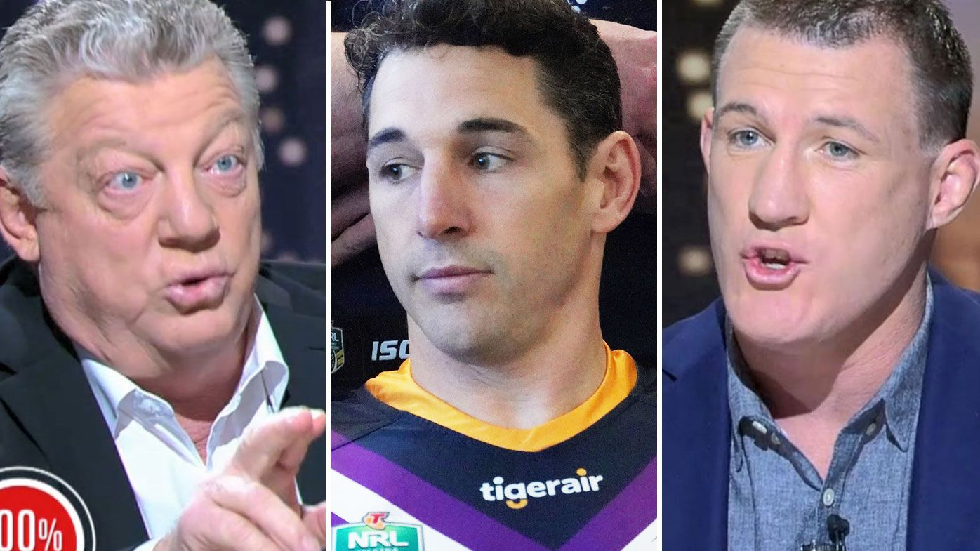 'He's got to miss a game': Paul Gallen and Phil Gould lock horns over Billy Slater charge