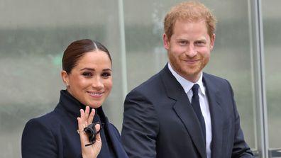 Duke and Duchess of Sussex New York