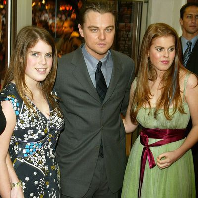 Princess Eugenie, Princess Beatrice and Leonardo DiCaprio