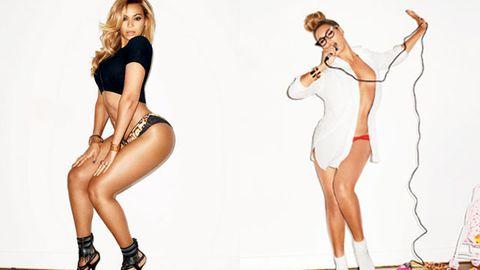 Beyonce posing for GQ magazine