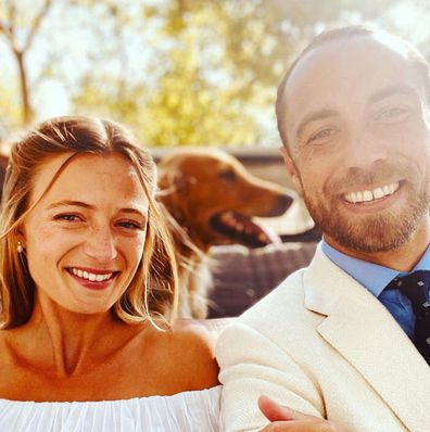 James Middleton marries