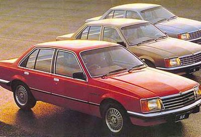 Original Holden Commodore ad