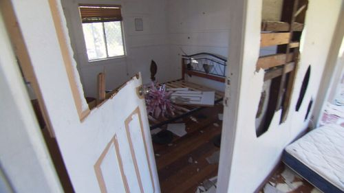 Mr Fraser said he estimated the damage to the house to be worth $50,000.