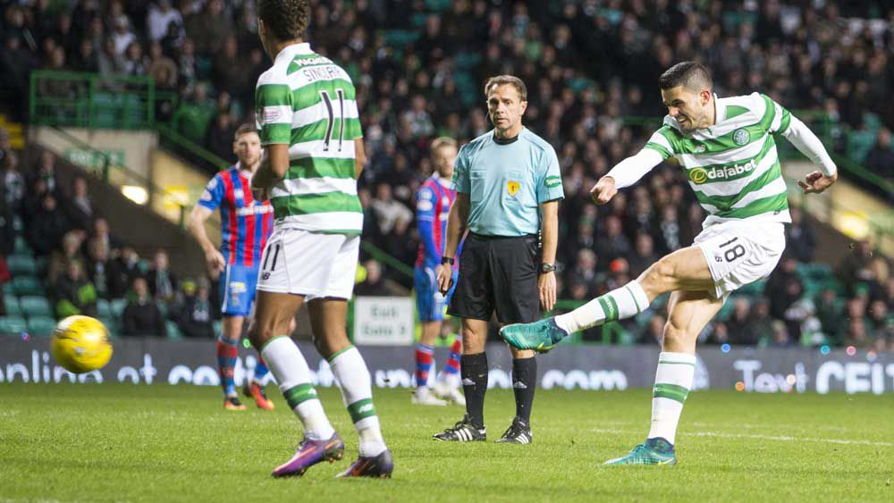 Rogic scores in another Celtic win