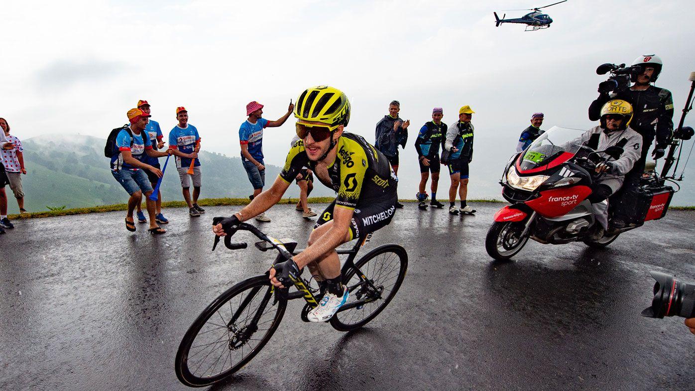 Simon Yates wins Tour de France stage 15 for Aussie team Mitchelton-Scott