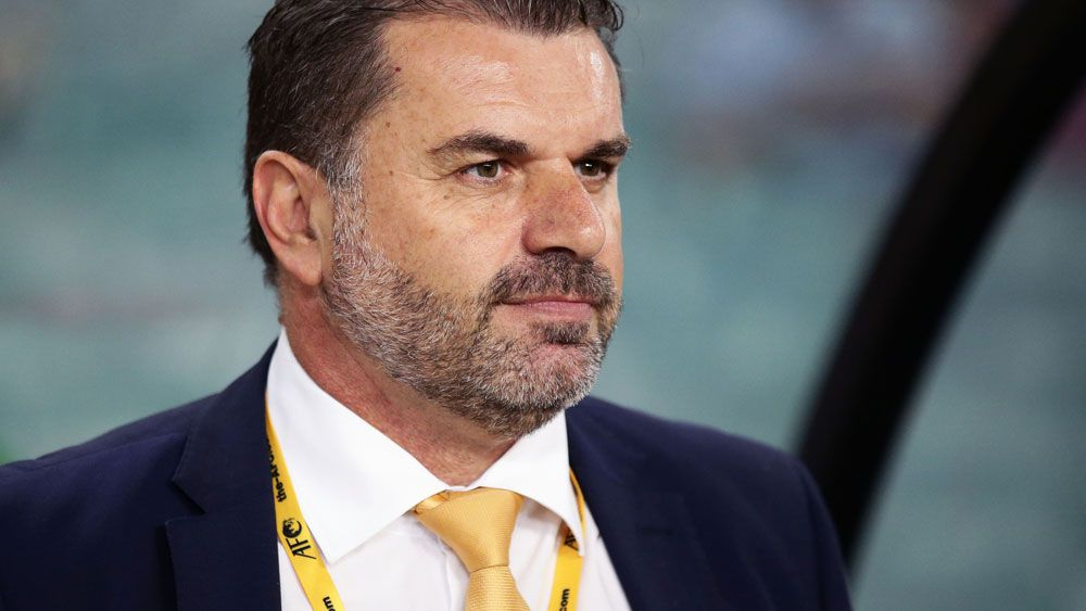 Socceroos coach Ange Postecoglou rails at critics after Australia's win over United Arab Emirates