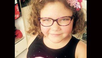 Hana Tarraf now eight, underwent lap band surgery last June.