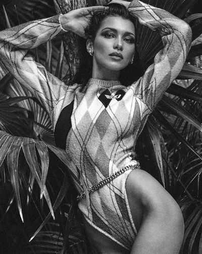 Bella Hadid for Vogue Mexico's July issue