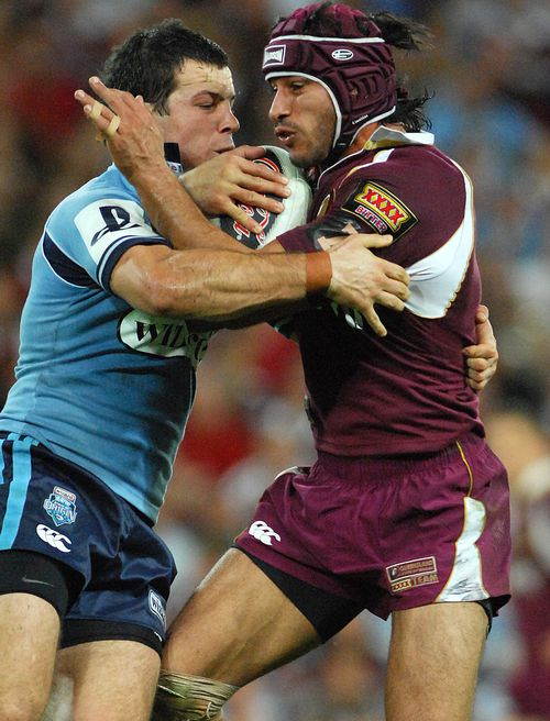 Jarrod Mullen played one game for NSW in 2007 despite having just 31 first grade appearances to his name. (AAP Image/Dave Hunt)