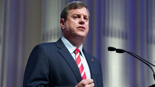 Queensland Treasurer Tim Nicholls. (Getty)
