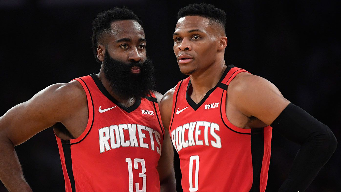 Houston Rockets trade star guard Russell Westbrook in giant All-star swap