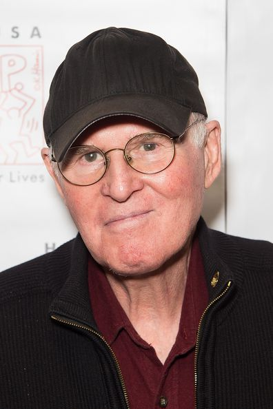 Charles Grodin attends Homelessness Isn't Funny, But They Sure Are benefit gig at Gotham Comedy Club on October 6, 2015 in New York City