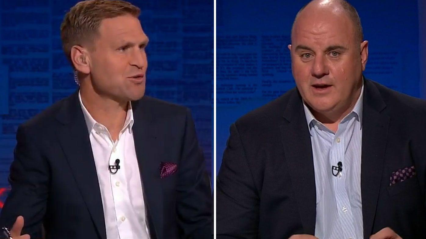 Kane Cornes goes head-to-head with Craig Hutchison over AFL interchange cap