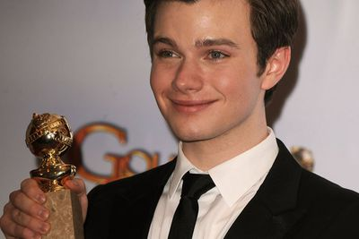 """Chris has been handed a gem of a story arc on <i>Glee</i>, and it's great to see him score some recognition. The openly gay young actor's speech was the most inspiring moment of the night: """"Most importantly, [thank you] to all the amazing kids that watch our show, and the kids that our show celebrates, who are constantly told, """"No,"""" by the people in the environments, by bullies at school, that they can't be who they are, or have what they want because of who they are, well, screw that, kids."""""""