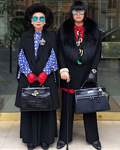"""<p>Instagram stars aren&rsquo;t born, they&rsquo;re made. Usually through a combination of enviable style, ostentatious wealth or access to a rarefied world few of us get to glimpse. Enter Peepy and Mother Lee, the mother and son duo behind the <a href=""""https://www.instagram.com/peepy_and_mother_lee/"""" target=""""_blank"""" draggable=""""false"""">Instagram account @peepy_and_mother_lee.</a></p> <p>With their penchant for matching designer handbags, Gucci glasses and grandiose, the pair&rsquo;s page is the Instagram fix you need when Gigi and Kendall's latest selfie just won't cut it. <br /> <br /> With over 116,000 followers and style status in spades, even Iris Apfel is going to have to lift her accessory game to compete with these two.</p> Click through to the best moment of&nbsp; Peepy and Mother Lee."""