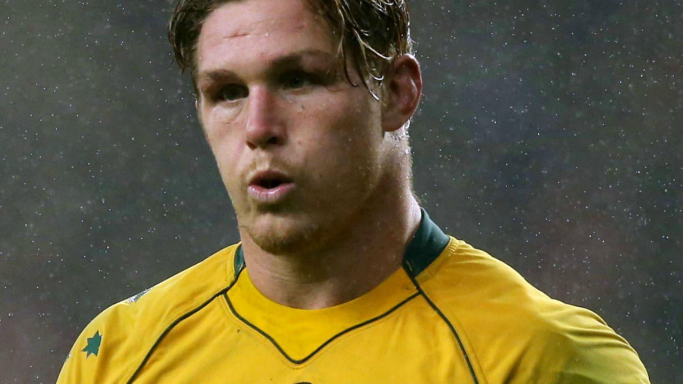 Australia's Michael Hooper