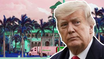 Zoning rules prohibit Donald Trump from living at Mar-a-Lago.