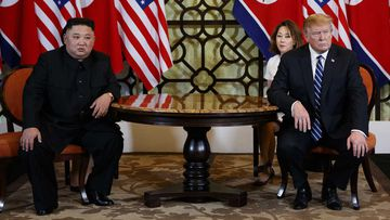 Kim Jong-un and Donald Trump.