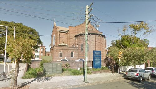 The family will be farewelled at St Mary's Catholic Church in Sydney tomorrow. (Google Maps)