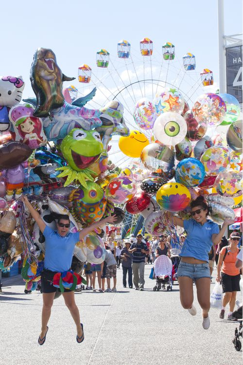 The Royal Easter Show has new entertainment and feature attractions this year. (AAP)