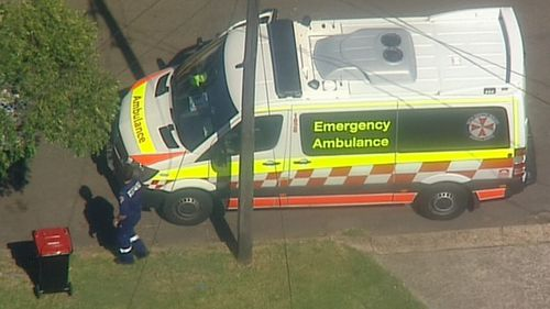 Paramedics were called to the property just about 3.30pm