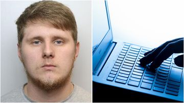 A UK paedophile who raped two children and shared video of one attack on the Dark Web could be free in eight years after receiving a life sentence for the crime.