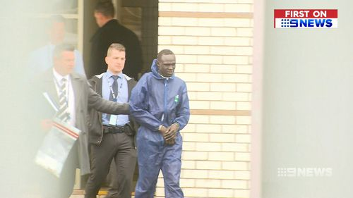 The 21-year-old fronted court today while on bail. (9NEWS)
