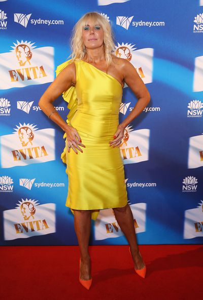 <em>The Real Housewives of Sydney </em>star AthenaX Levendi at the premiere of <em>Evita,</em> Sydney Opera House.