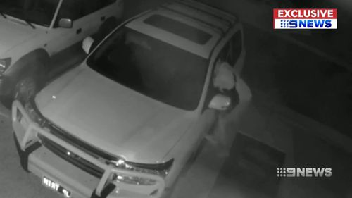 Almost a dozen teens have been captured on CCTV ransacking cars on a street in Gwelup in Perth's north.