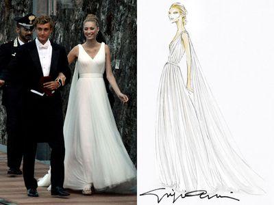 <p>Dress five:Giorgio Armani Privé</p>